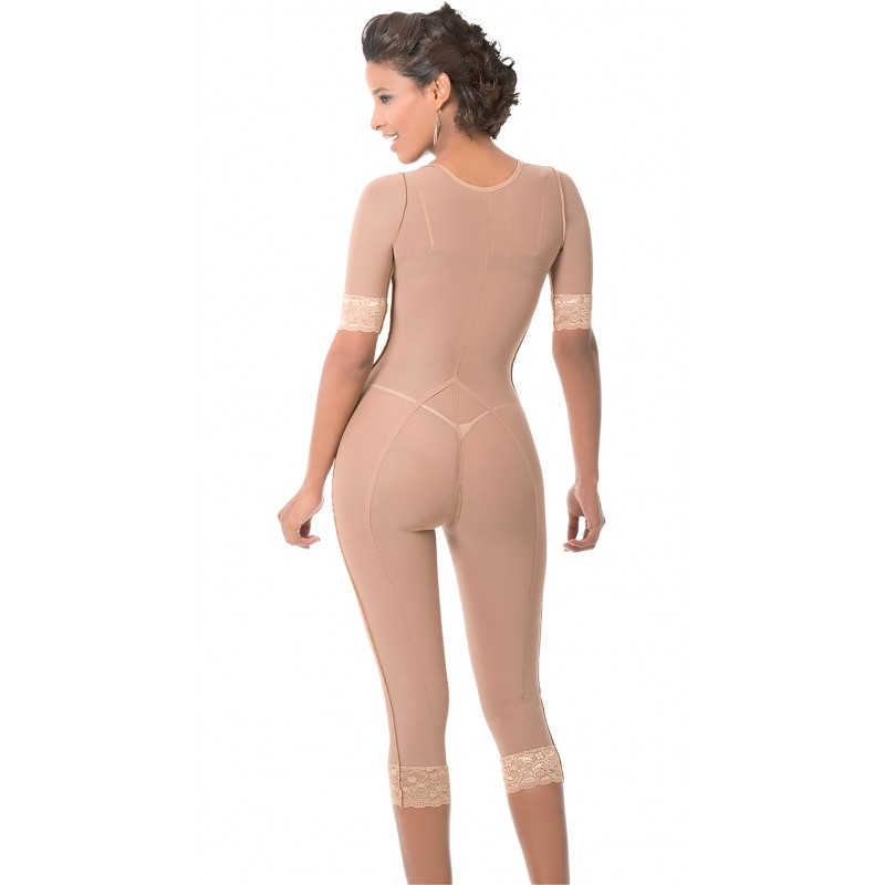 0d77f92cd15 LONG LEG BODY SHAPER WITH ARMS - Everything Fajas